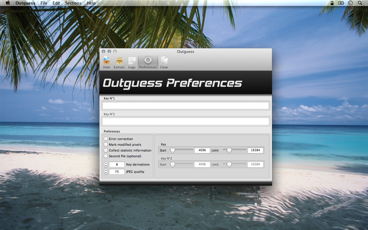Outguess preferences