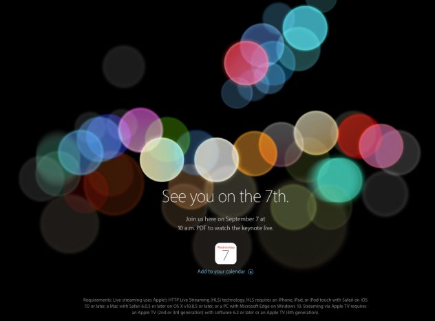 Apple Events September